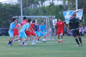 Chiến thắng '2 sao' trước Giáo dục & thời đại, đội Pháp luật Việt Nam lọt vào bán kết Press cup 2018