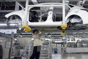 Châu Âu và Nhật Bản được lợi nhờ Trung Quốc giảm thuế nhập khẩu xe