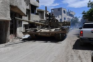 Quân đội Syria hoàn toàn giải phóng trại Yarmouk
