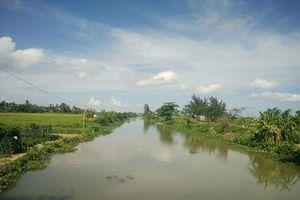 Nghi vấn cá sấu khổng lồ sổng chuồng bơi ra kênh Hòa Bình