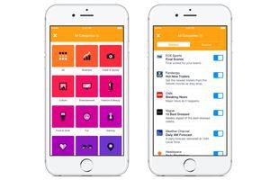 Facebook giới thiệu ứng dụng tin tức Notify cho iOS