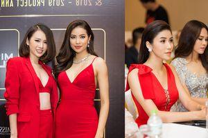 Phạm Hương chạm mặt 'bản sao' tại tiệc của Ngọc Tình