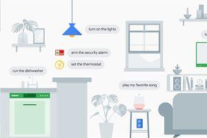 Trợ lý Google có thể kiểm soát ngôi nhà thông minh bằng cách nào?