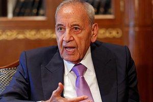 Ông Nabih Berri lần thứ 6 được bầu làm Chủ tịch Quốc hội Lebanon
