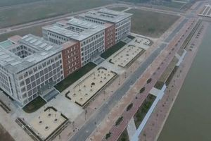 Ngắm trường đại học nghìn tỷ ế sinh viên giữa đồng lúa Hưng Yên