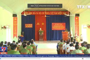 Truy tặng Huân chương dũng cảm cho Thượng sỹ Lê Chí Phước
