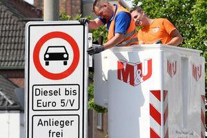Thành phố đầu tiên của châu Âu bắt đầu cấm xe chạy dầu diesel