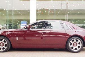 Đại gia Huế chơi trội, tậu Rolls-Royce Ghost biển ngũ quý 1 hơn 11 tỷ đồng