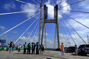 Chính thức khánh thành cầu Cao Lãnh qua sông Tiền vào 27.5