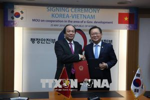 Việt Nam tìm hiểu mô hình Chính phủ điện tử của Hàn Quốc