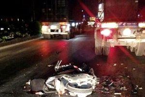 Hải Dương: Va chạm với ô tô, nam thanh niên chết thảm