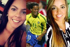 Ronaldinho cùng lúc cưới hai vợ và bước vào sự nghiệp chính trị gia