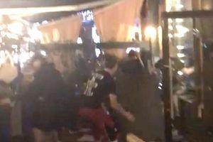Vụ tấn công các CĐV Liverpool trong nhà hàng tại thành phố Kiev
