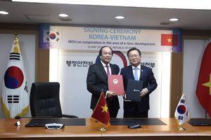 Việt Nam – Hàn Quốc hợp tác xây dựng Chính phủ điện tử
