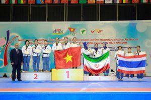 Taekwondo Việt Nam giành 2 HCV cuối cùng của giải quyền châu Á