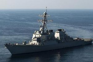 Tàu chiến Mỹ tiến vào gần quần đảo Hoàng Sa trên Biển Đông
