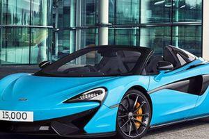 McLaren Automotive kỷ niệm siêu xe thứ 15.000 được sản xuất