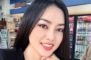 Vẻ gợi cảm của vợ Lâm Vũ 'bầu 4 tháng sau 4 tháng quen'
