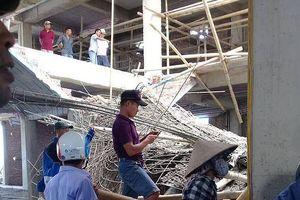 Sập giàn giáo công trình xây dựng, một người tử vong