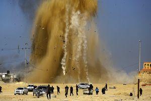 Israel không kích tên lửa vào các mục tiêu của Hamas tại Dải Gaza