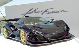 Siêu xe hàng hiếm Apollo Intensa Emozione xuất hiện ở Monaco