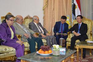Ông Võ Văn Thưởng thăm và làm việc tại Ai Cập