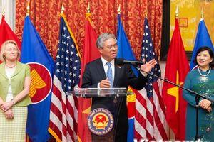 Đại sứ Việt Nam tại Mỹ tiếp tân đối ngoại chuẩn bị kết thúc nhiệm kỳ