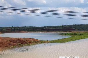 Hai anh em ruột trượt chân chết đuối thương tâm tại Đắk Nông