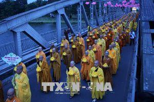 Chúc mừng và tổ chức nhiều hoạt động đón mừng Đại lễ Phật đản
