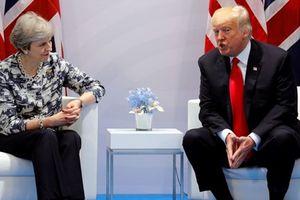 Bà Theresa May trăn trở nghĩ phương án đón ông Donald Trump thăm Anh
