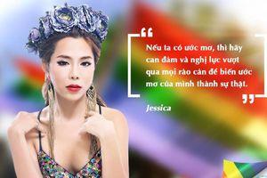 Jessica trải lòng về những khó khăn và nụ cười 'hậu' chuyển giới