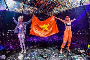40.000 bạn trẻ khuấy động phố đi bộ Nguyễn Huệ với đêm nhạc EDM