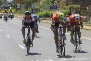 Chặng 6 giải xe đạp truyền hình Bình Dương: Nỗ lực tranh chấp của Ynghua Đồng Nai sau chặng đua ngắn