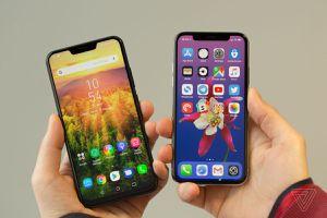 Tại sao 'tai thỏ' iPhone X trông đẹp hơn trên điện thoại Android?