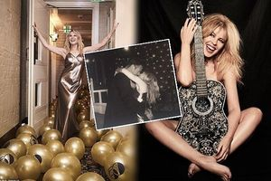 Kylie Minogue tung ảnh gợi cảm, quậy tưng bừng đón sinh nhật 50 tuổi
