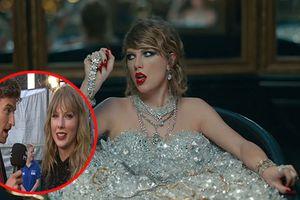 Taylor Swift 'muối mặt' khi bị nam phóng viên nhắc khéo nên 'đi tắm ngay'