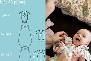 Bật mí công thức mặc đồ phòng tránh đột quỵ ở trẻ sơ sinh