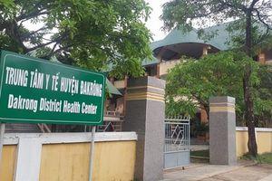 Lãnh đạo Trung tâm Y tế huyện bị kỷ luật vì sử dụng sinh phẩm hết hạn