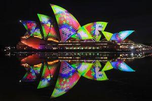 Sydney lung linh trong đại tiệc ánh sáng tại lễ hội Vivid 2018