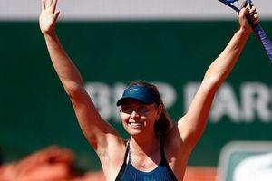 Rafael Nadal và Maria Sharapova thẳng tiến tại Roland Garros 2018