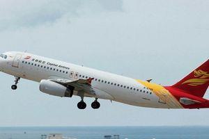 Máy bay Trung Quốc hạ cánh khẩn cấp trong lộ trình đến Việt Nam