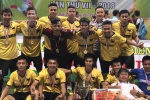 Giải bóng đá tranh Cúp Bình Điền - MeKong: Sân chơi lành mạnh và nhân văn