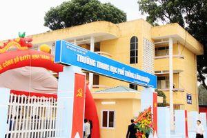 Hà Nội xây nhiều trường học mới chuẩn bị cho năm học 2018-2019