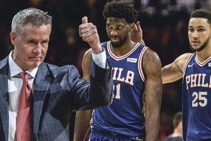 HLV Brett Brown ký hợp đồng mới, sẵn sàng đưa Philadelphia 76ers lên đỉnh