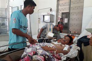 Hai người bị sét đánh thương vong tại ruộng