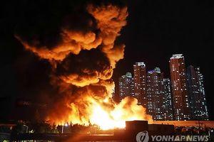 Hàn Quốc: Nổ lớn tại nhà máy sản xuất đạn Hanwha, 7 người thương vong
