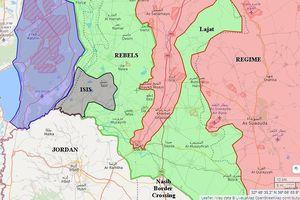 Syria thắng chẻ tre, Mỹ tuyên bố chặn quân Assad tấn chiếm tỉnh Daraa
