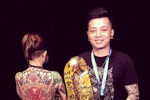 Nghệ sĩ xăm hình cá tính ở Hà Nội