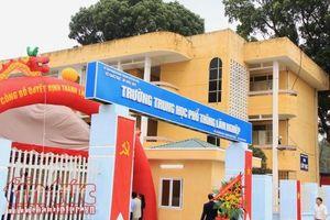 Năm học 2018-2019, Hà Nội thành lập mới 7 trường Trung học phổ thông