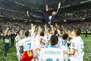 Phản ứng cầu thủ Real như thế nào khi Zidane tuyên bố từ chức?